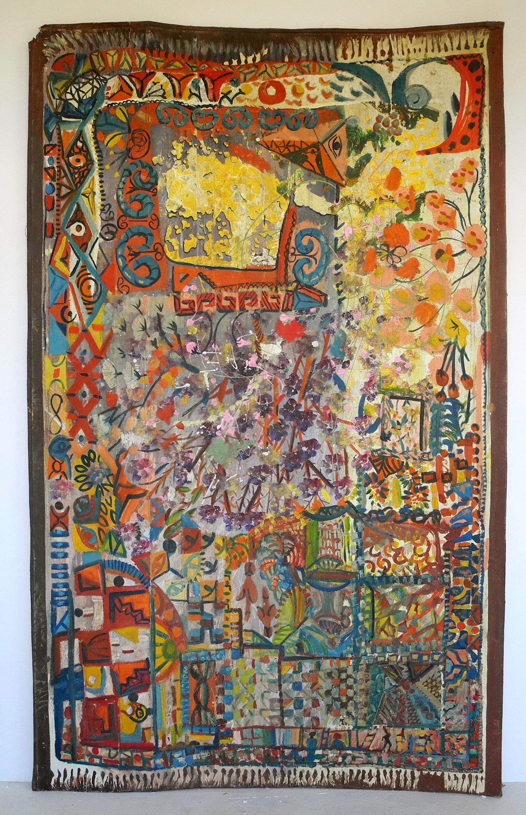 Crazy Painting Painting Paula J Wilson