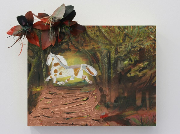 "alt=""Paula Wilson painting of horse"""