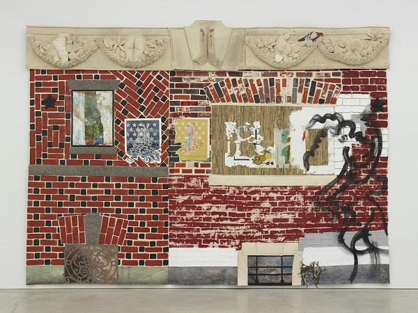 """""""Paula Wilson fabric facade"""