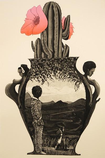 """Paula Wilson print"""
