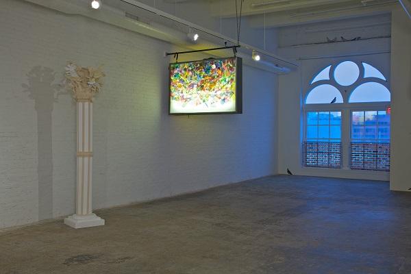"""""""Paula Wilson art installation"""""""