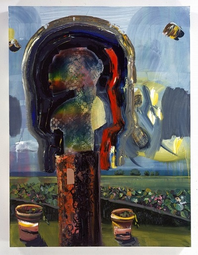 "alt=""paula wilson painting of D'mba"""
